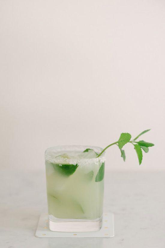 St. Germain & Mint Margarita. Mais oui