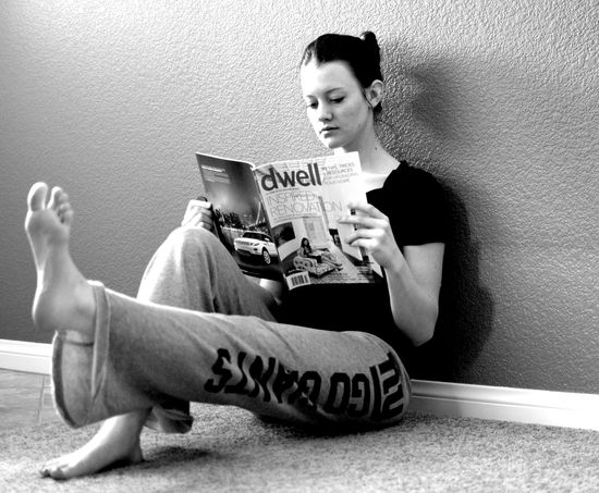 Lazy Girl Fitness - Reading a Book by violetsage.wordpr... #Fitness #Lazy_Girl_Fitness #violetsage_wordpress