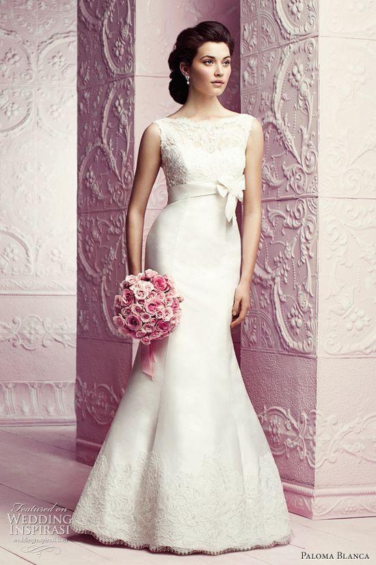 Paloma Blanca Fall 2012 Premiere Collection + Classics Wedding Dresses -- Sponsor Highlight