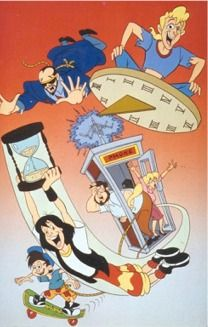 Bill & Ted the animated series (1990) Hanna-Barbera - S1, DIC - S2