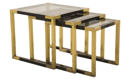 Vintage Brass Tables - Casegoods & Tables - Flea