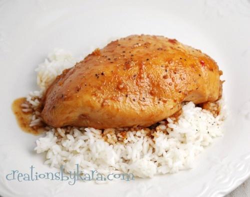 Glazed Crock Pot Chicken