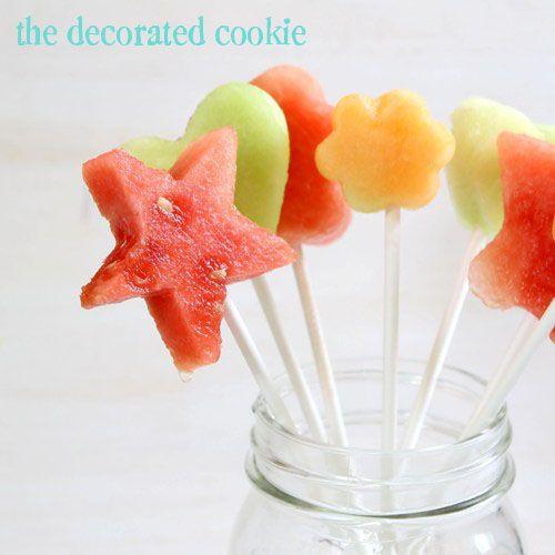 Fruit pops- fun for Summer