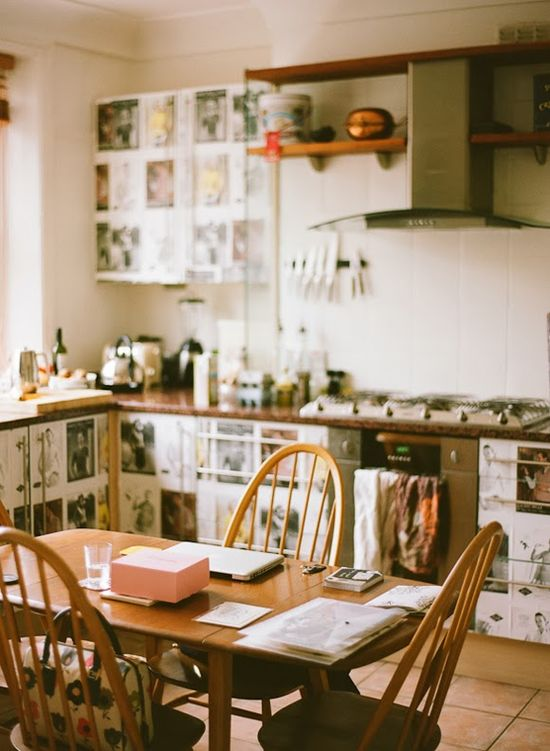 the home interiors of designer Lisa Levis - kitchen