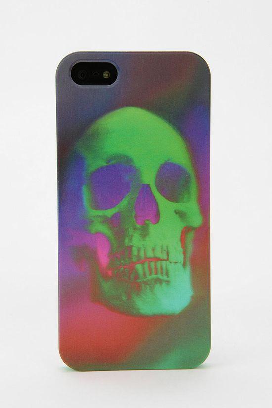 Hologram Skull iPhone 5 Case