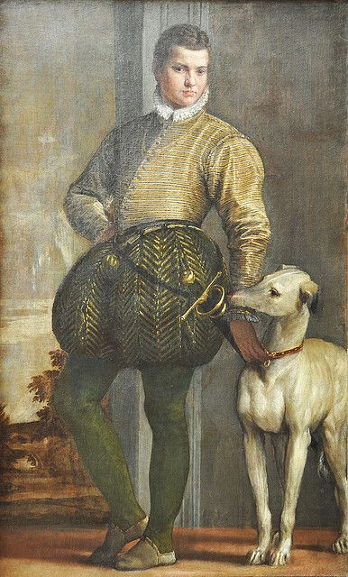 Boy with a Greyhound. Paolo Veronese, Italy.