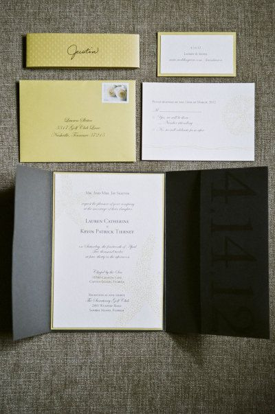 THE INVITES WE GOT!