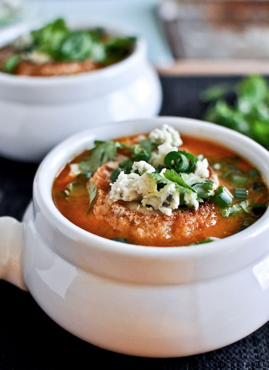 Simple Buffalo Chicken Soup Recipe