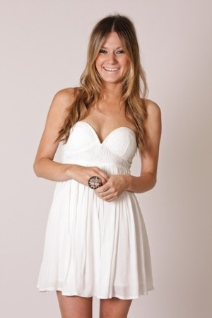 white dress, summer dress
