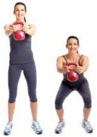 Kettlebell workout