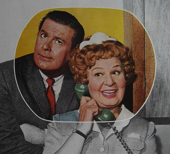 1963 HAZEL TV SHOW Vintage Television 1960s RCA Advertisement Shirley Booth DON DEFORE