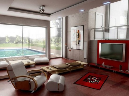 Modern Living Room Design Ideas 2013-2014