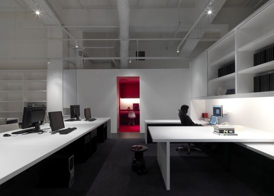 Barcode Office by Ministry of Design