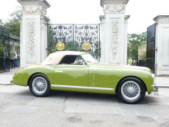 1948 Alfa Romeo 6C 2500 Super Sport Cabriolet