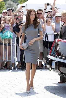 Duchess of Cambridge during Royal Tour of Canada. July 2, 2011.