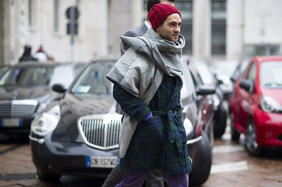 Milan Fashion Week Fall/Winter 2013 Street Style