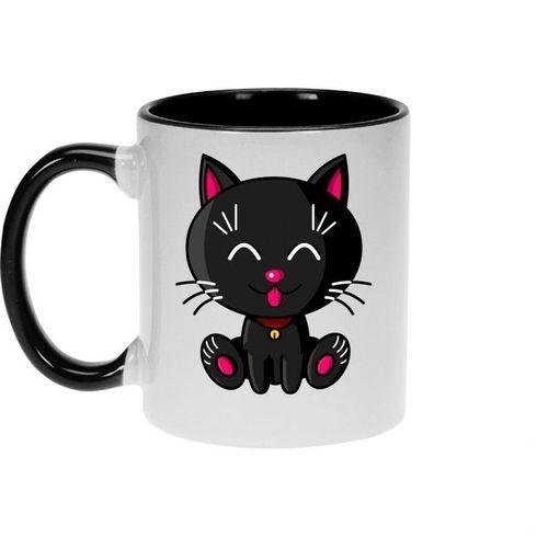 Mug - Kawaii Baby Cat (noir)