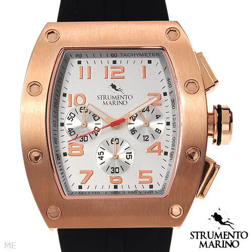 STRUMENTO MARINO SM056RRG/WH Chronograph Men's Watch