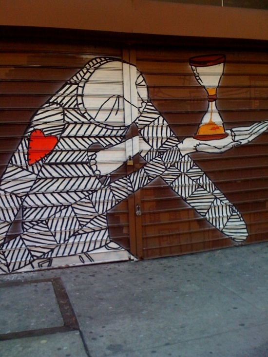 NYC Graffiti. #art, #street_art, #city_life