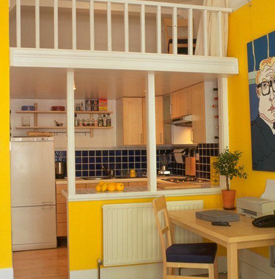 Yellow Small Kitchen Interior Design Ideas Kitchen Interior Ideas #2581