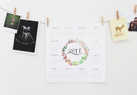 2011 seasons of wreath calendar