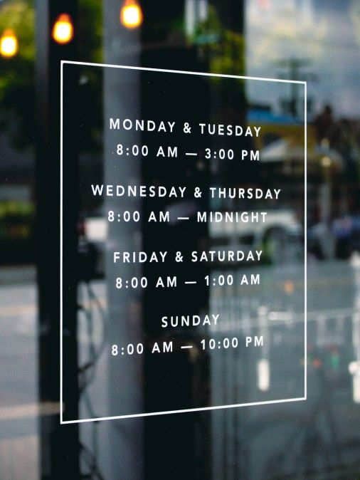 Tangent Cafe—nice typography