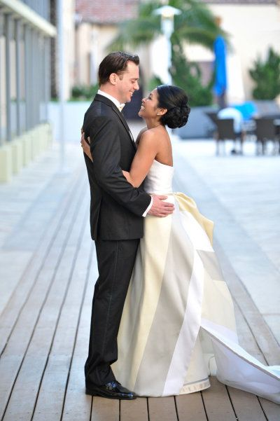 That's one stunning gown! Photography by michellelawsonpho... Floral Design by kitanim.biz  Read more - www.stylemepretty...