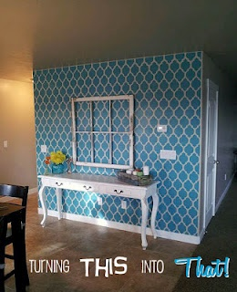 Turning This Into That: Wall Stencil