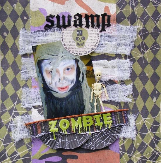 Swamp Zombie - Scrapbook.com