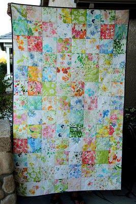 vintage linens quilt