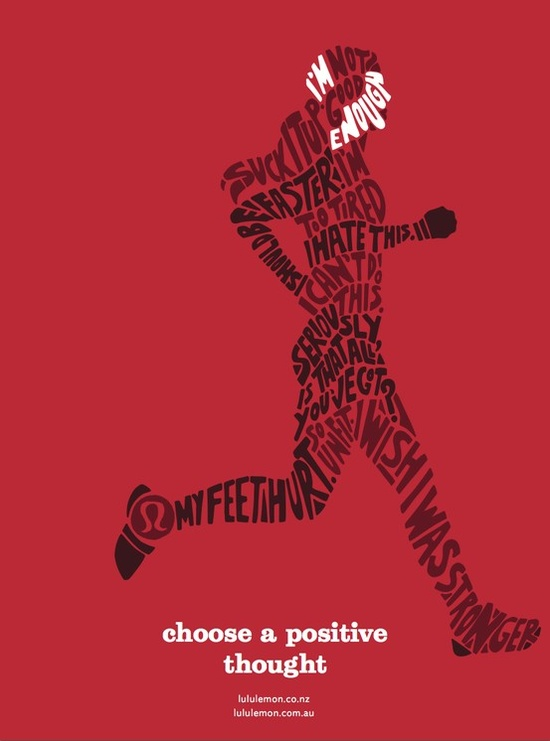 choose a positive thought.