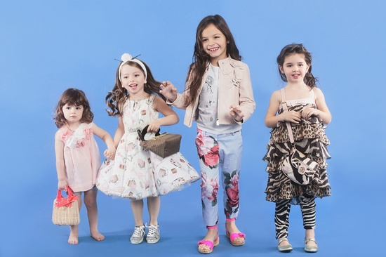Luisa Via Roma trendy kids fashion for summer 2013, girlswear from top kids fashion designers.