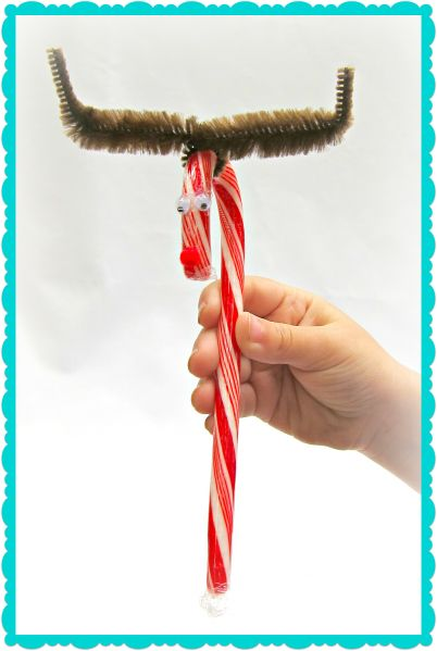Dollar Store Crafts » Blog Archive Tutorial: Make Candy Cane Reindeer Gifts » Dollar Store Crafts