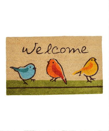 {For the Birds Doormat by Design Imports}