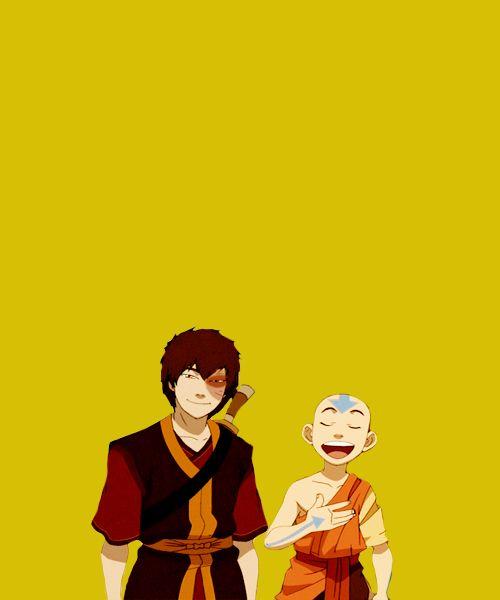 Aang and Zuko :)