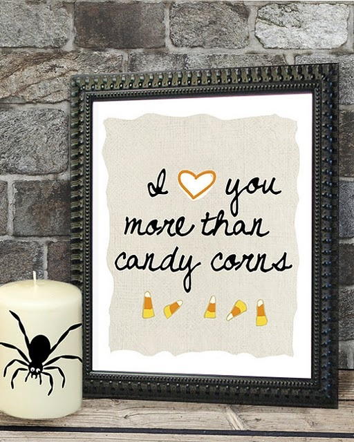 """This would be a HUGE compliment coming from me """"cuz I love me some candy corn!!"""