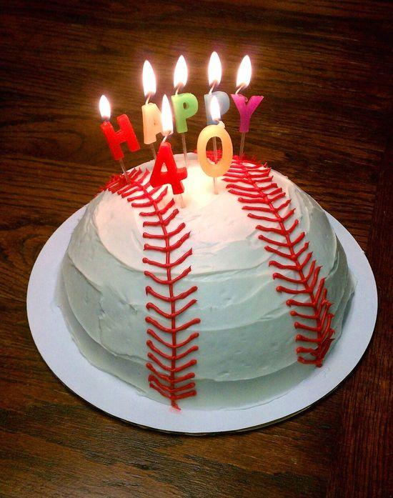 husband's birthday cake?