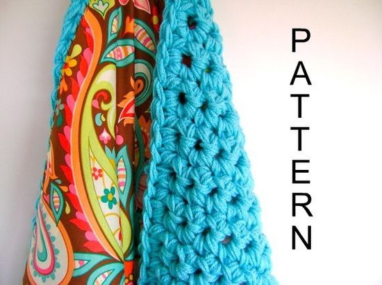crochet reversible baby blanket pattern--awesome looking pattern, can't wait to try it!