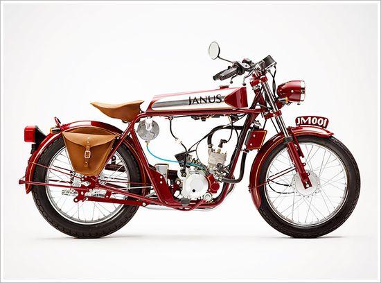Halcyon 50 Deluxe - JanusMotorcycles - Pipeburn - Purveyors of Classic Motorcycles, Cafe Racers & Custom motorbikes