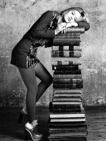 le bibliothécaire fatigué