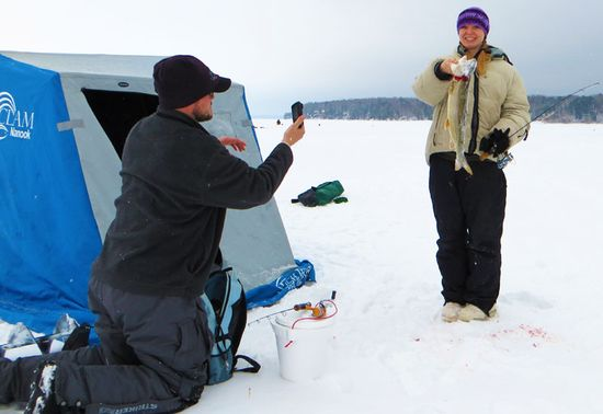 A Weekend Ice Fishin