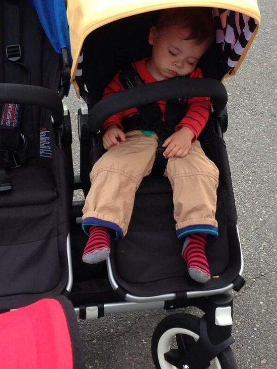 #cute kid worn out from a fun day of mmc festivities!