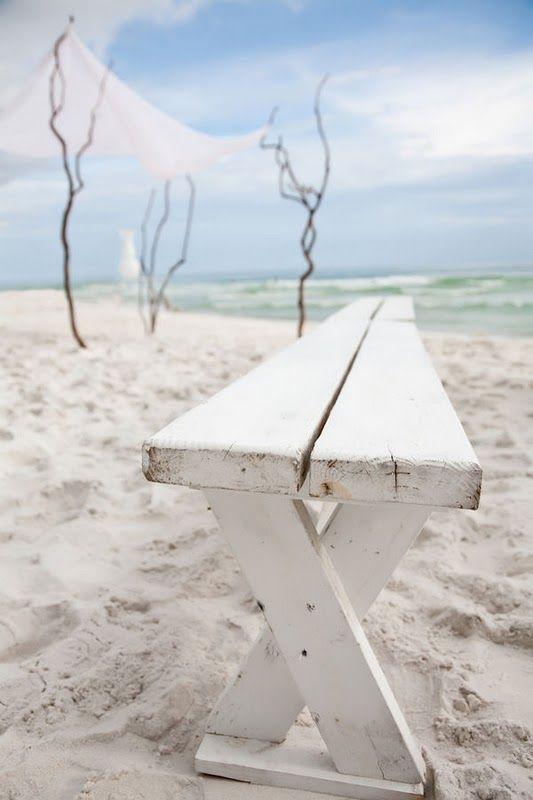 the beach wedding.