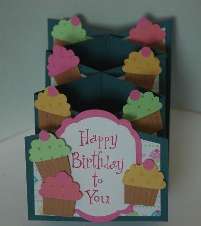 cascading cupcakes :)