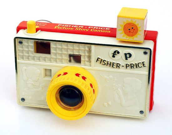 Vintage Fisher Price Toy Camera