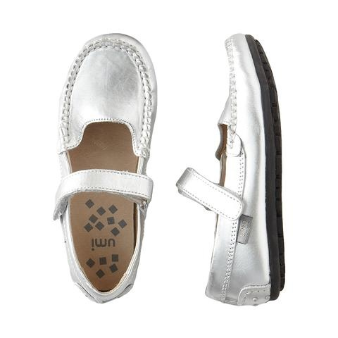 Umi Silver Girls Shoes