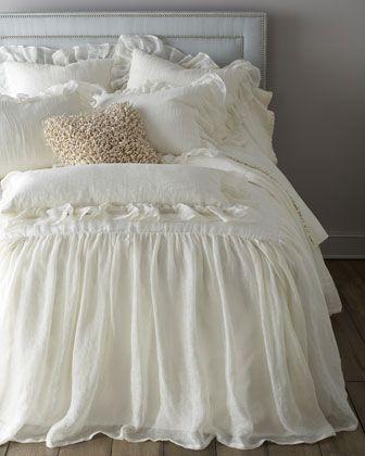 """""""Savannah"""" Bed Linens at Horchow."""