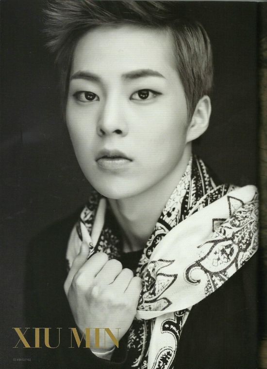 EXOdicted - EXO Fansite: [SCANS130831 EXO on Men's Style Magazine September Issue HQ - Xiumin