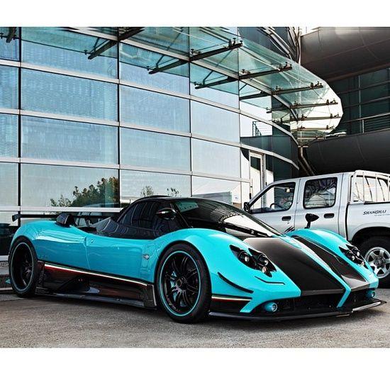 Pagani Zonda #celebritys sport cars #luxury sports cars #ferrari vs lamborghini #sport cars