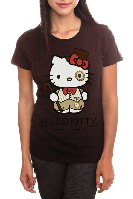 Hello Kitty goes steampunk!  This is a Hot Topic online exclusive only.  Get her while she lasts!